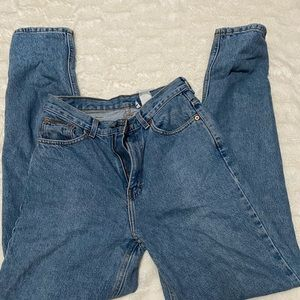 High waisted vintage Calvin Klein jeans